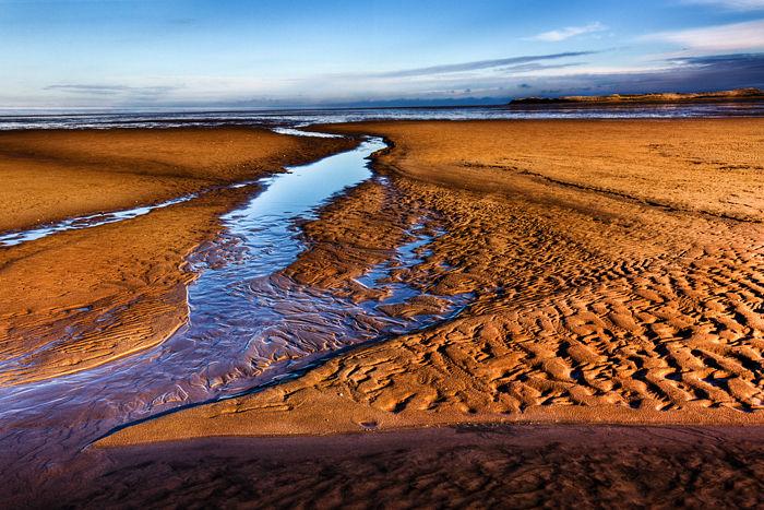 Lindisfarne sands