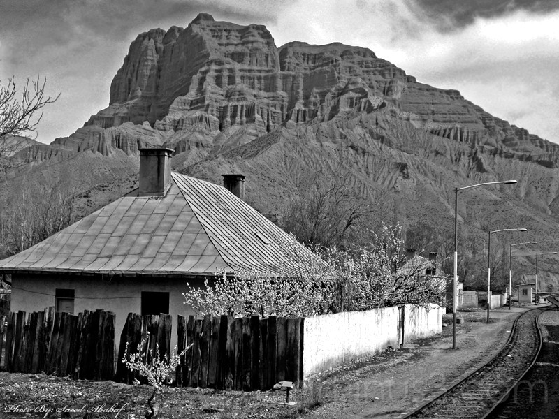 Simin Dasht Train Station,North of Iran