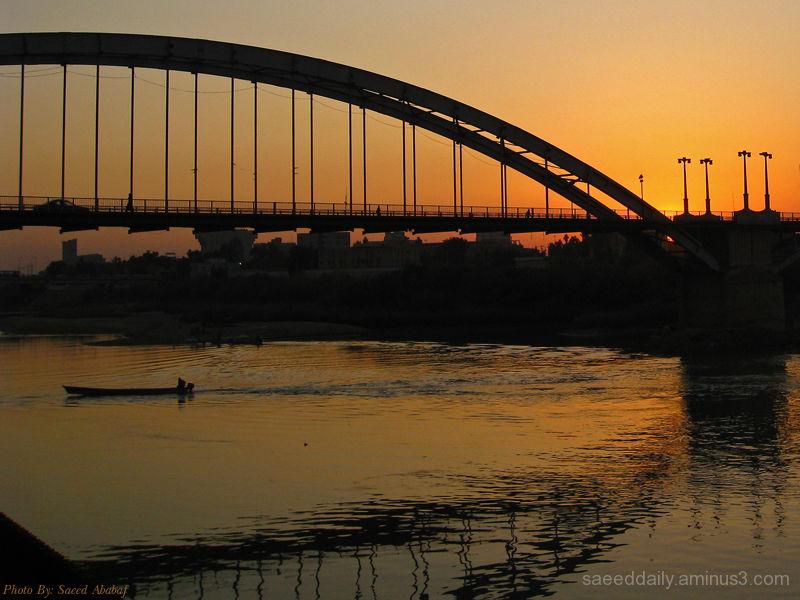 Ahwaz,Karoun riverside
