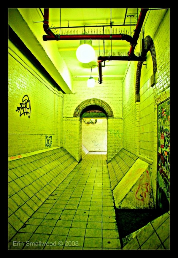Embankment tunnel