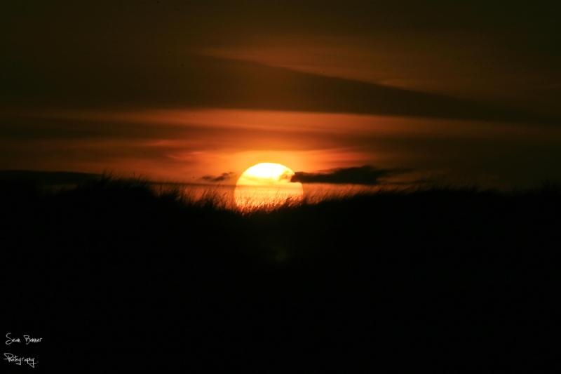 Dollymount beach sunset