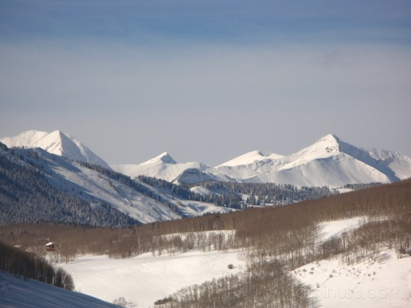 view from crested butte