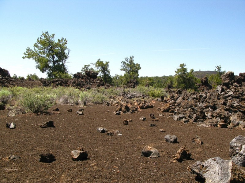 desolation in craters of the moon national park, i