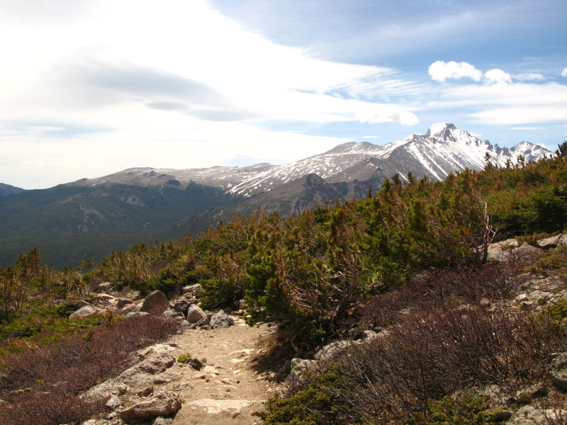 trail to flattop