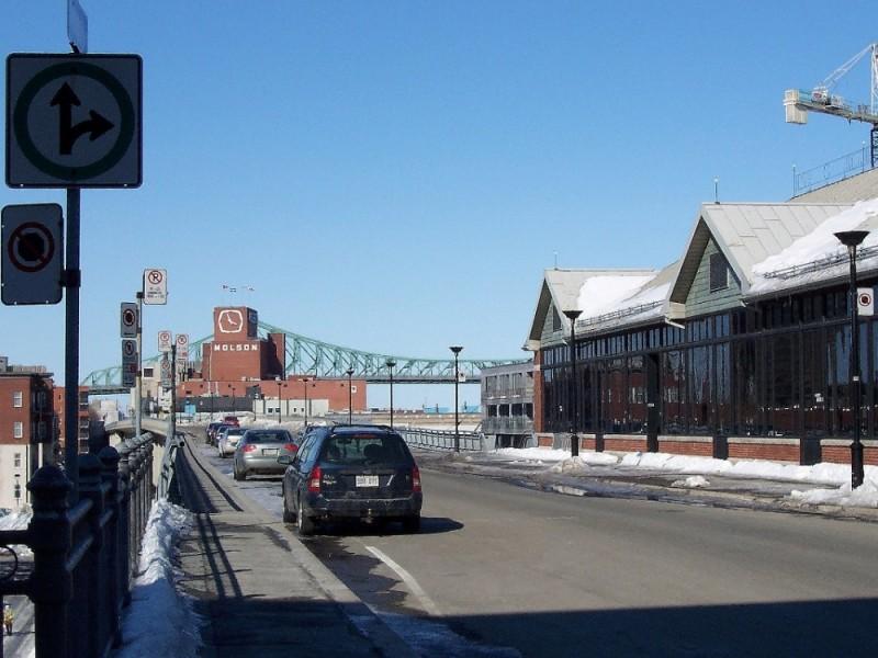 Jacques-Cartier bridge in Montreal