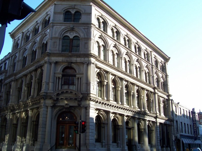 Building in Old-Montreal
