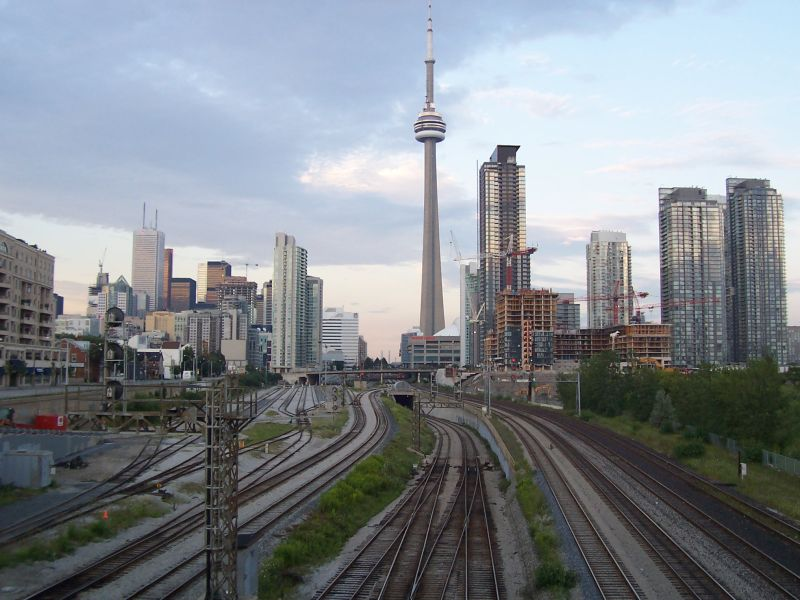 Downtown Toronto Railway 2008