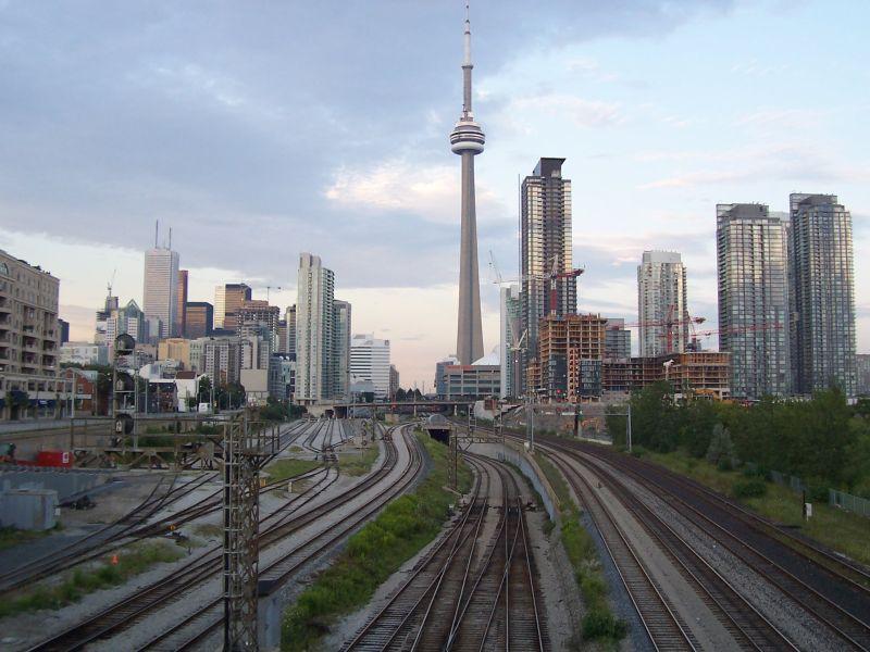 Downtown Toronto Railway 2008