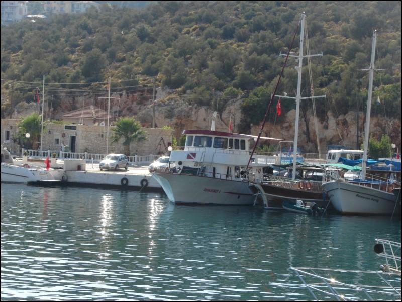 Boats at Kalkan Harbour