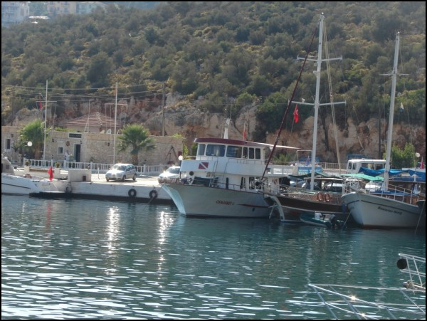 Boats at Kalkan Harbour