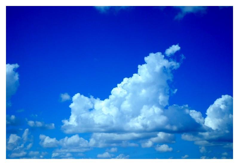 clouds vivid sky
