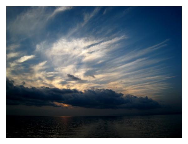 eexplosive clouds sky