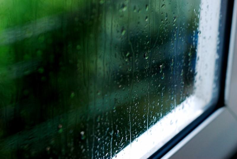window raindrops