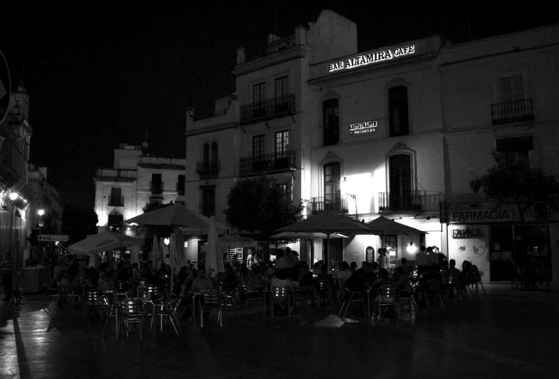 Plaza by Night