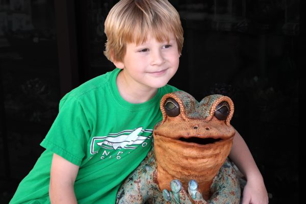 A Boy and His Frog