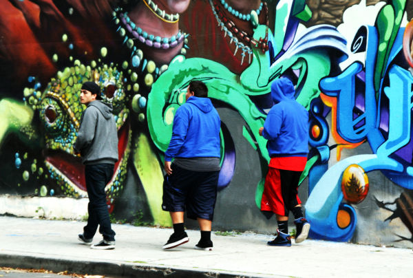 Chicano Park - Wearing Colors