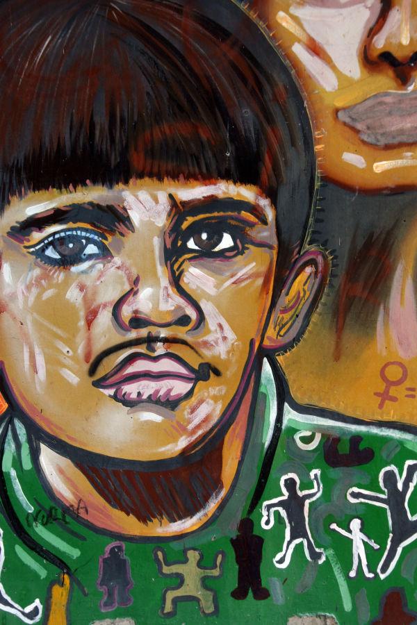 Chicano Park - Boy in Green
