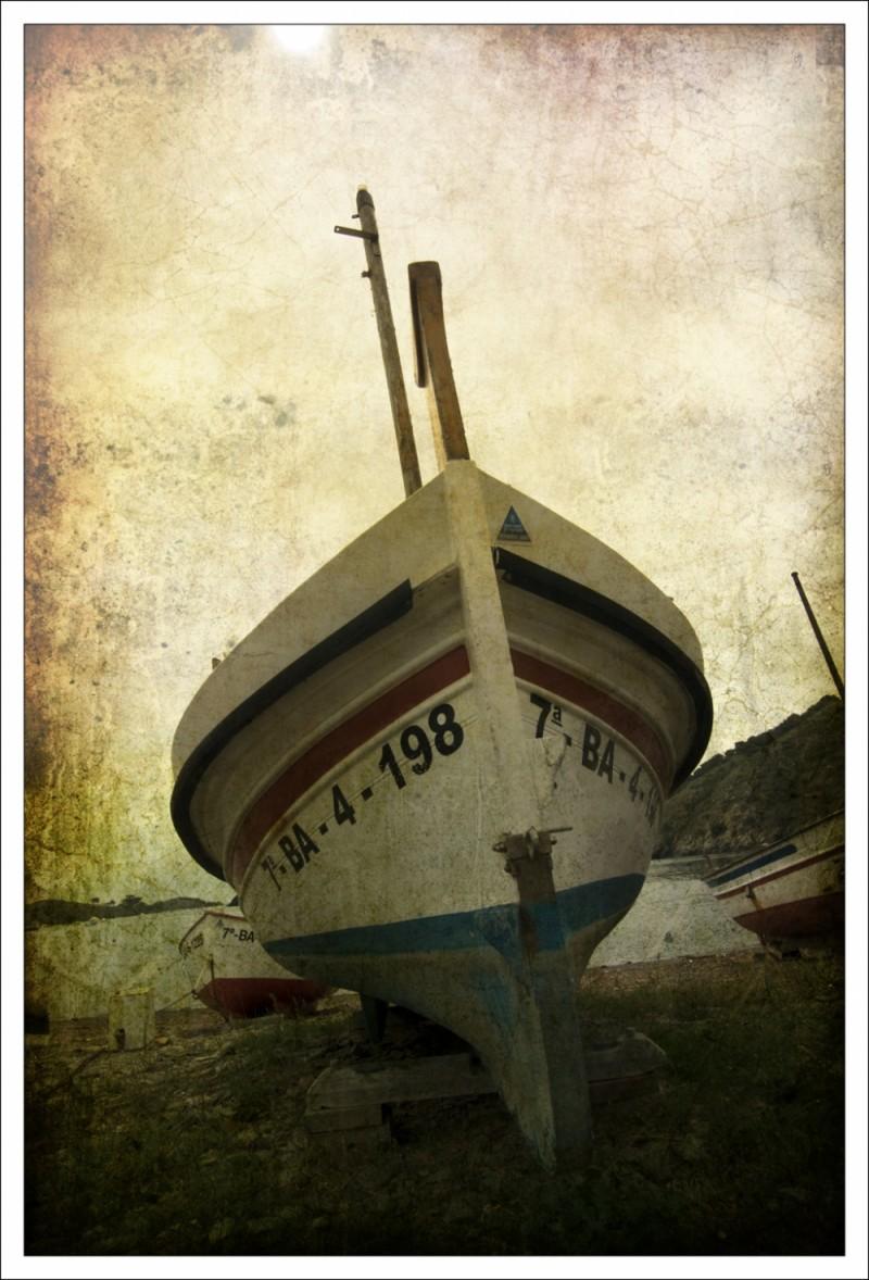 Barca a Port Lligat