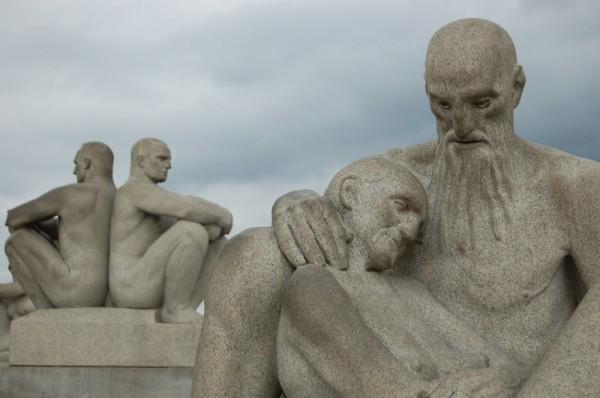 vigeland park sculpture oslo