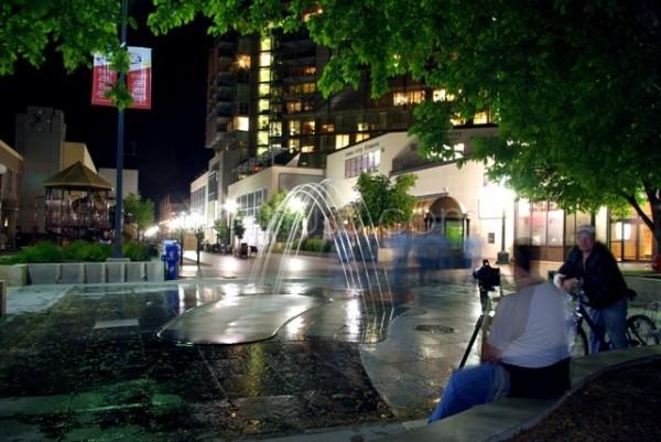 Downtown Iowa City, Pedestrian Mall Fountain