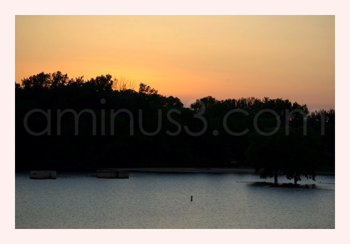 Coralville Reservoir Sunset
