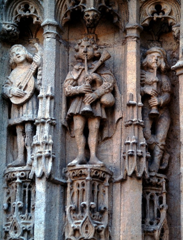 sculptures de musiciens