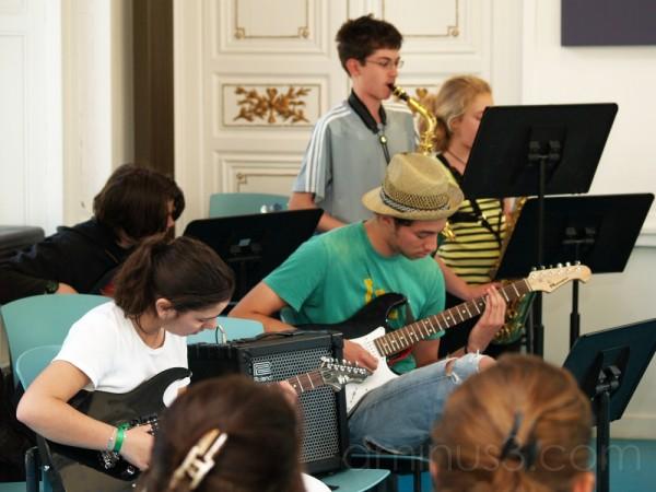 fête de la musique au conservatoire d'Orly