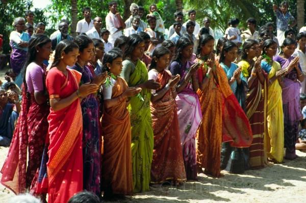 fête de la fertilité - Tamil Nadu - Inde - 1990