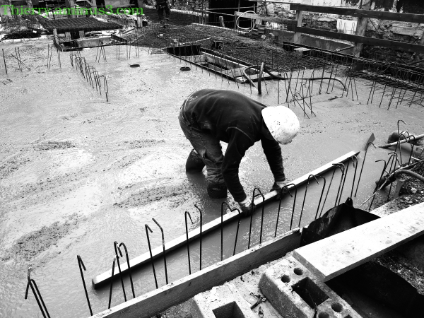 chantier du bâtiment