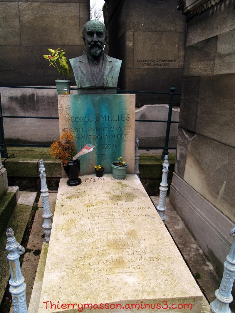 tombe de Georges Méliès au Père Lachaise