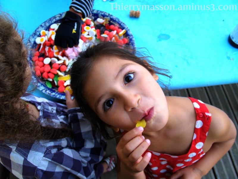 le festin de bonbons