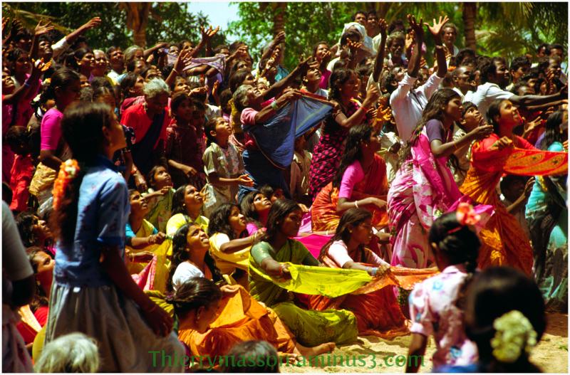 célébration religieuse populaire en Inde