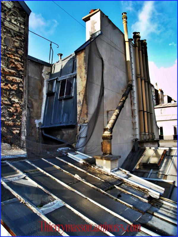 les toits de Paris encore
