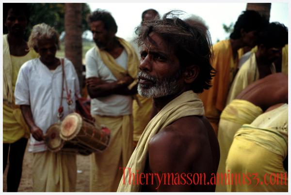 Musiciens des champs Inde Tamil Nadu 1991
