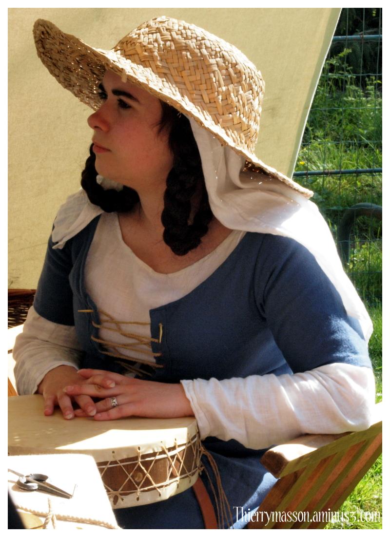 Portrait de femme du Moyen Âge 2