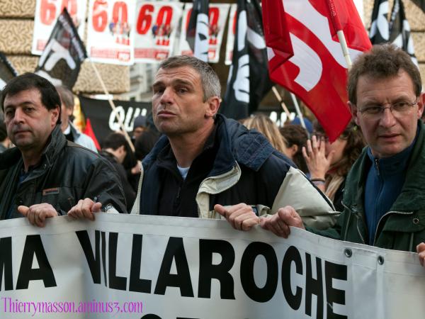"""La manifestation contre la """"réforme"""" des retraites"""