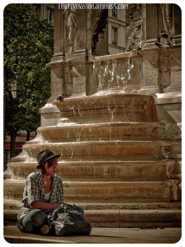 l'inconnue de la fontaine des Innocents