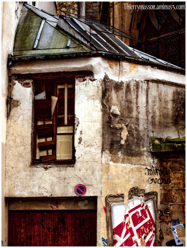 rue du cloître Saint Merri
