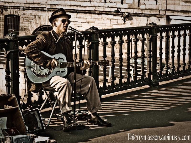 Musicien des ponts