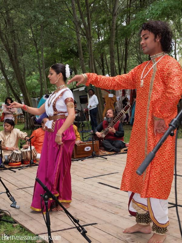 Les maîtres de la danse Kathak de l'école de Luckn
