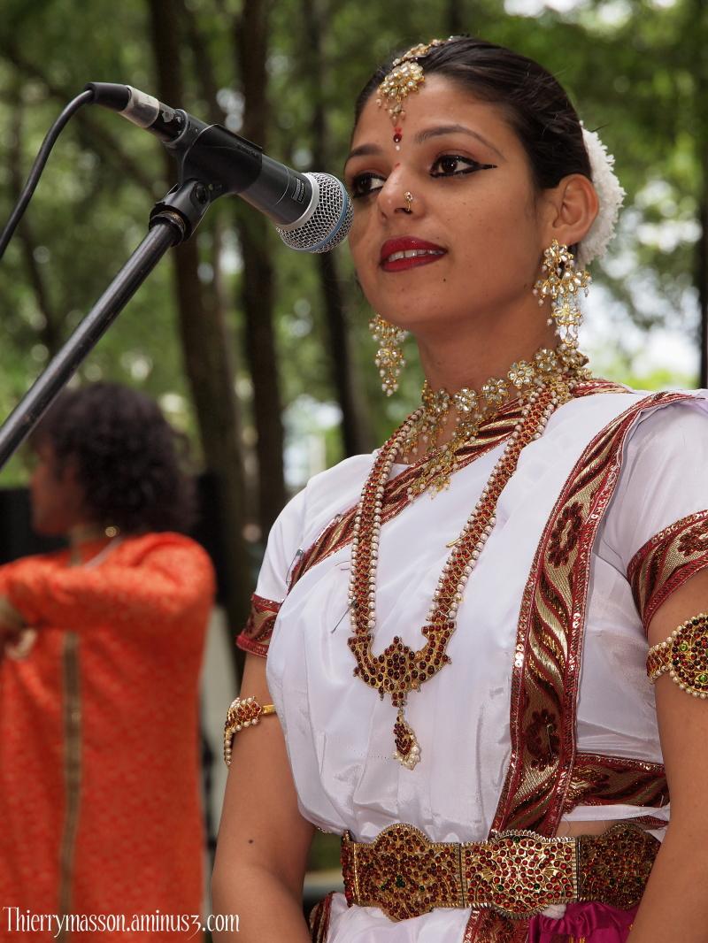 la danseuse Ranjana Pandey
