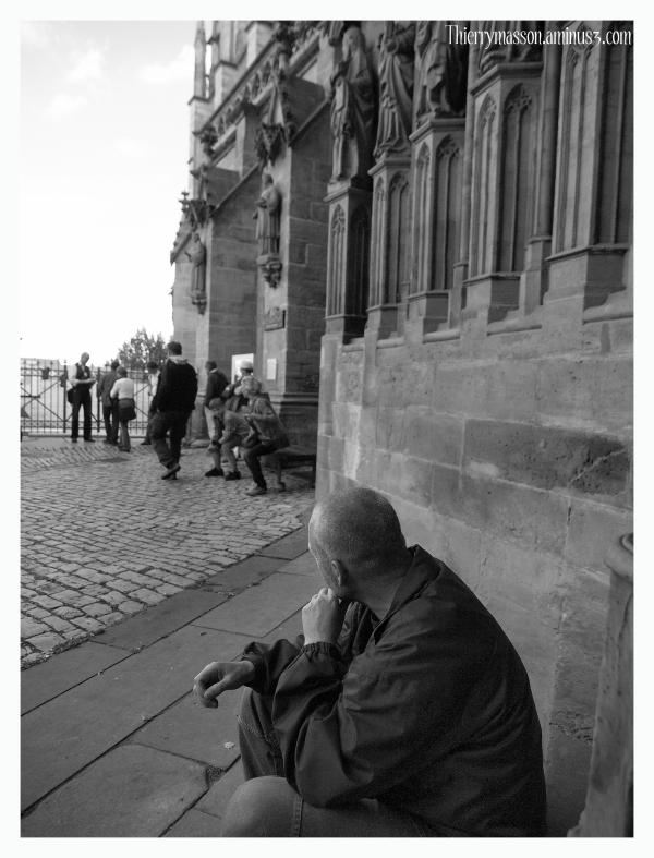 Le mendiant de la Cathédrale