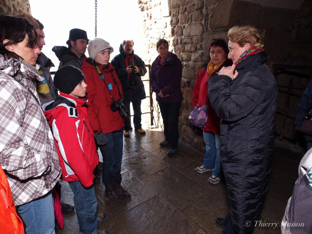 Visite guidée au Mont-Saint-Michel