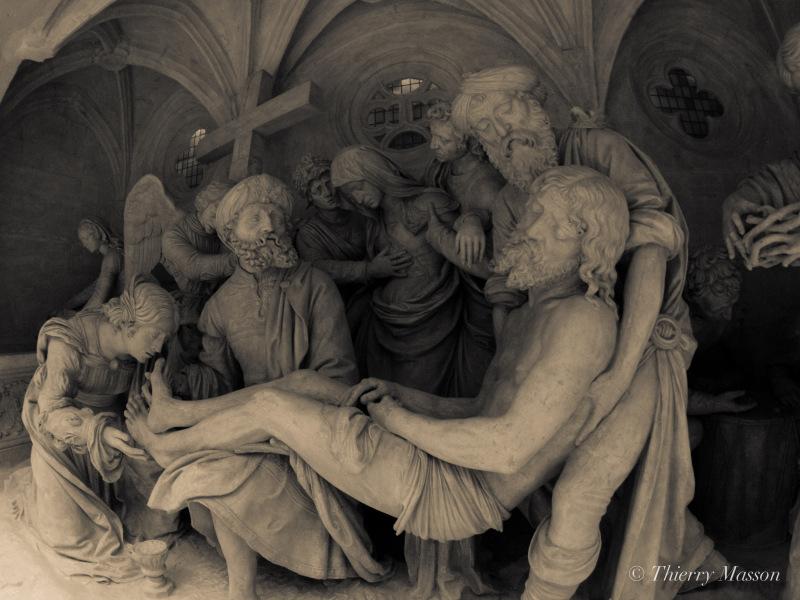 Le sépulcre ou la mise au tombeau