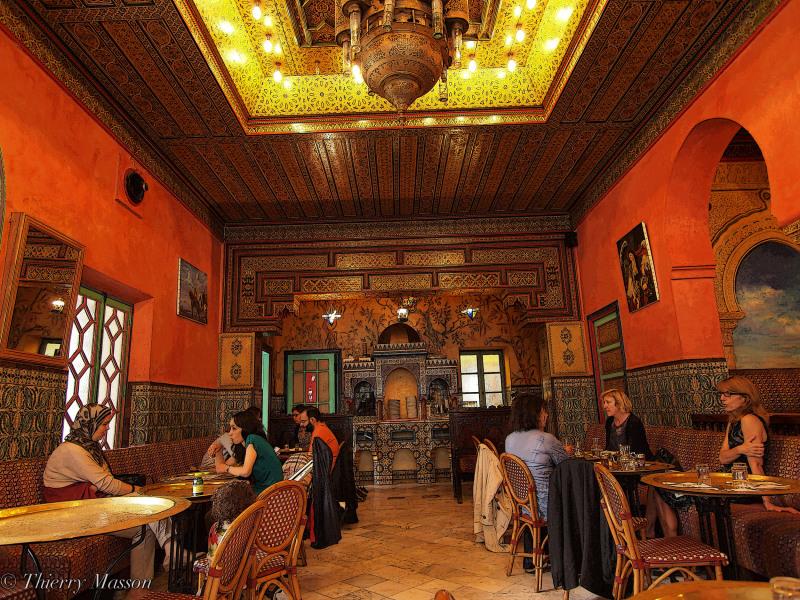 Restaurant de la grande mosqu e de paris lifestyle culture photos thierry 39 s photoblog - Mosquee de paris salon de the horaires ...