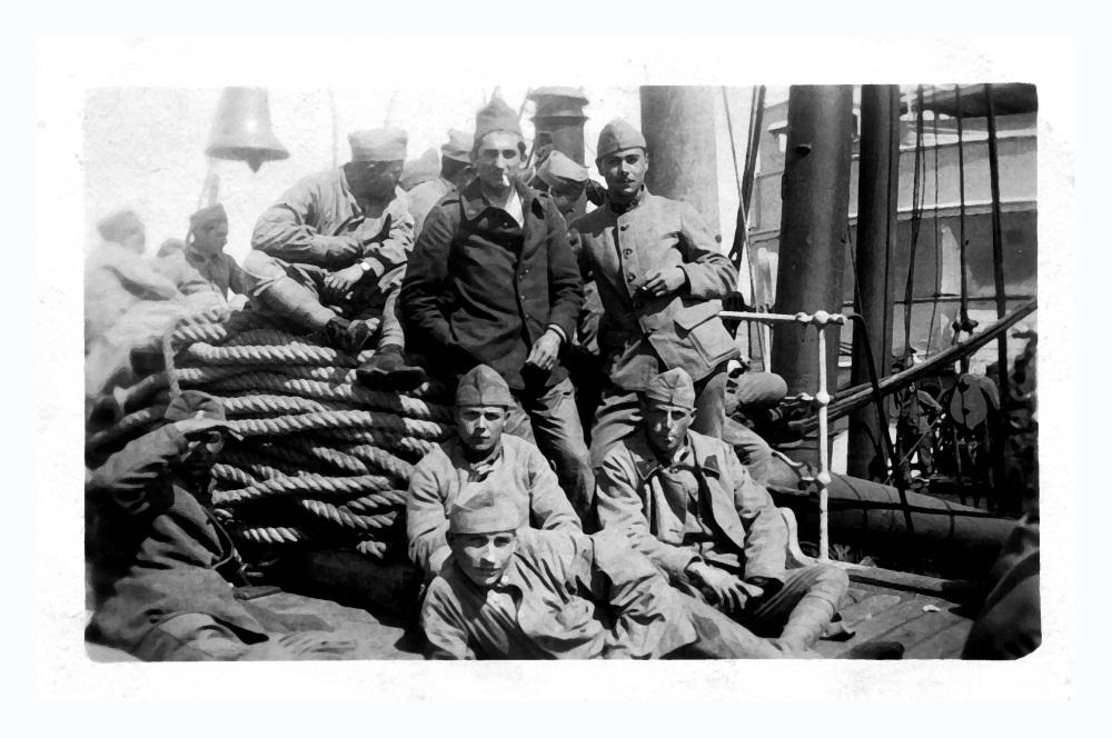 Mon grand-père part à la guerre