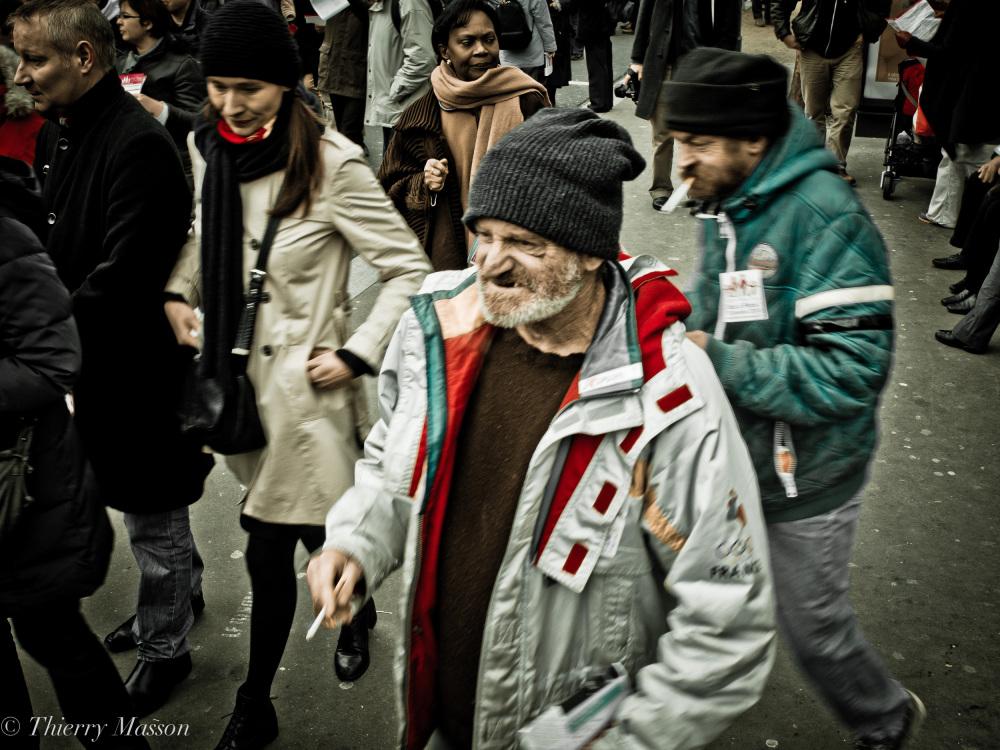 Place d'Italie le 13 janvier 2013