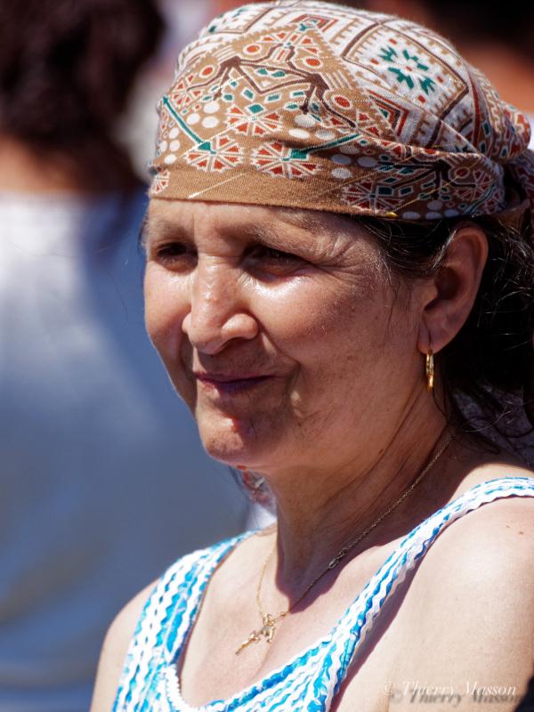 fête de soutien aux familles Roms du bidonville
