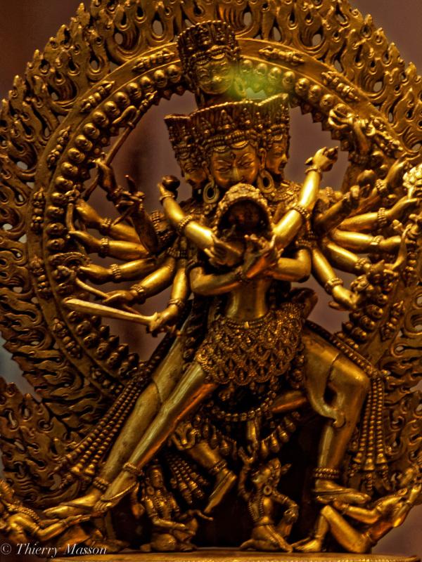 Hevajra sous son aspect Sastradhara