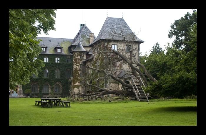 Mysterious castle
